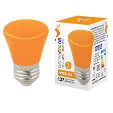 <b>Лампа</b> декоративная светодиодная (UL-00005642) <b>Volpe E27 1W</b> ...