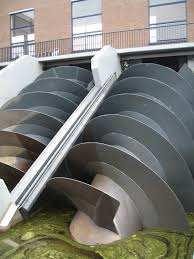 archimedes simple english the encyclopedia a modern archimedes screw in a pumping station in kinderdijk the