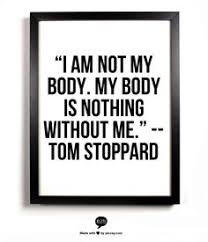 Image result for i am not the body
