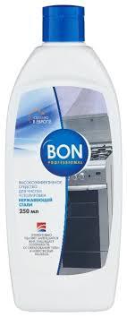 <b>Средство для чистки</b> и полировки нержавеющей стали <b>BON</b> ...
