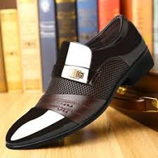 Summer Men Dress Shoes Plus Size Men Formal Flat Shoes ... - Vova
