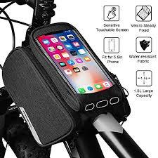 SM SunniMix <b>Bike</b> Handlebar Bag/<b>Bicycle Front</b> Frame Pack/<b>Cycling</b> ...