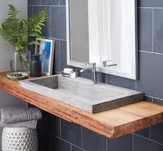 black floating bathroom vanity
