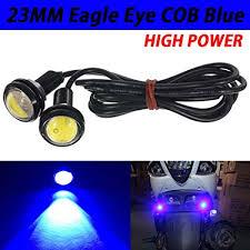 10PCS 23mm <b>12V 9W</b> Eagle Eye LED <b>Car</b> DRL Lamp Daytime ...