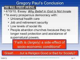 is religion good or bad for society