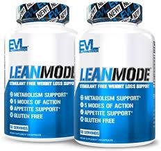 Evlution Nutrition <b>Lean Mode Stimulant-Free Fat</b> Burner Support ...