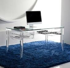 howay fay t67 office furniture 2016 acrylic computer desk clear acrylic office desk