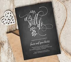 we still do vow renewal invitation template instant 128270zoom