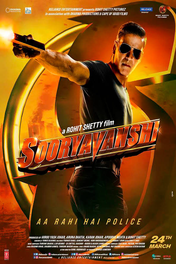 Sooryavanshi (2020) Hindi Movie 480p [350MB] | 720p [1GB] | DvDRip