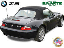 bmw z3 1996 2002 convertible soft top replacement black haartz twillweave fits bmw bmw z3 1996 2002