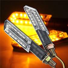 Generic <b>2pcs LED Turn Signal</b> Motorcycle Light Lamp Indicator ...
