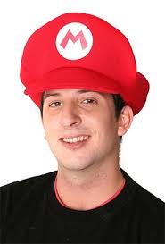 Super Mario Bros Mario Hat - Super-Mario-Bros-Mario-Hat