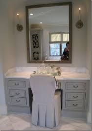 inspiration bathroom vanity chairs: in master i have to have knee space vanity area