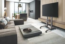 <b>Мобильные стойки</b> ONKRON для <b>телевизоров</b> и digital-панелей