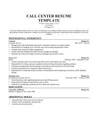 call center resume template resume builder call center representative resume samples and tips khyzbzpa