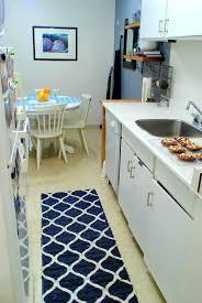 kitchen runner rug yellow