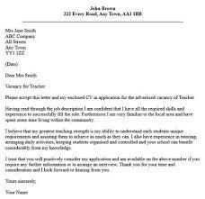 application for teaching job cover letter   college resume    application for teaching job cover letter
