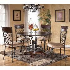 dining room table ashley furniture home: alyssa round dining room set sig d  a dr set