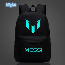 Teenagers <b>Backpacks</b> School Bag Logo Messi <b>Backpack</b> Bag <b>Men</b> ...