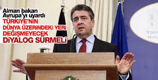 Almanya Dışişleri Bakanı: Türkiye ile diyalog sürmeli