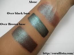 <b>MAC</b> Tuesday : <b>Blue Brown</b> Pigment Review, Swatch, FOTD | <b>Mac</b> ...