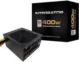 <b>Aerocool</b> Integrator <b>400W 80</b> Plus Bronze Power Supply Unit ...
