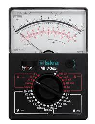 <b>Portable Electric</b> Meter <b>MI</b> 7065