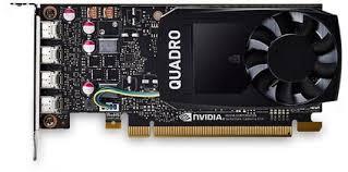 Видеокарта DELL Quadro P1000 nVidia PCI-E 4096Mb GDDR5 ...