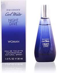 <b>Davidoff Cool Water Night</b> Dive Eau de Toilette Spray for Women 50 ...