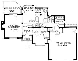 Classic Compact House Plan   ST   nd Floor Master Suite    Floor Plan