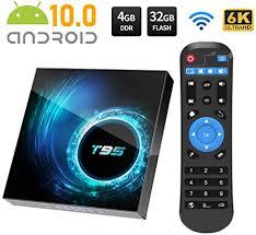<b>Android TV BOX</b>, <b>T95 Android</b> 10.0 <b>TV BOX</b> 4GB RAM: Amazon.co ...