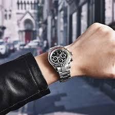 <b>Mens Watches</b> Stainless Steel Strap Analog Quartz <b>Watch Business</b> ...