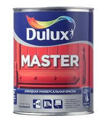 <b>Эмаль алкидная</b> Dulux Master 30 основа BW полуматовая 1 л ...