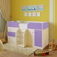 <b>Кровать</b>-<b>чердак Астра</b>-<b>5</b> от производителя фабрики <b>РВ</b>-<b>мебель</b> ...