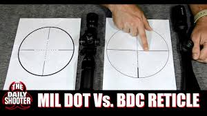 Mil Dot Vs BDC <b>Reticle</b> Which One Is For You - YouTube