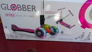 Маше купили детский <b>самокат</b> Глоббер с подсветкой Перегонки в ...
