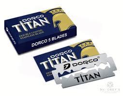 Лезвия для <b>безопасной бритвы</b> Dorco Titan <b>Safety Razor</b> Blades ...