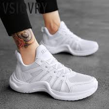 VSIOVRY Luxury Brand <b>Men Sneakers</b> Spring <b>Summer 2018</b> New ...