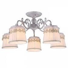 Потолочная <b>люстра Arte Lamp</b> Merletto <b>A5709PL</b>-5WG