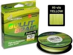 <b>Рыболовная леска ALLVEGA Bullit</b> Braid 135м 0,10 ...
