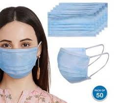 Shop Welspun Welhealth <b>50 Disposable Face Mask</b> Online
