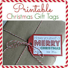 printable christmas coupons printable gift tags
