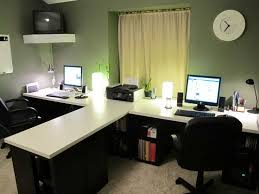 2 person home office desks for two person office digihome alluring person home office design fascinating