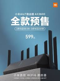 <b>Xiaomi</b> AIoT Router AX3600 <b>is</b> up for <b>pre</b>-<b>sale</b> in China for 599 yuan ...