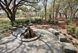 Small Picture The Meditation Garden Features Roper St Francis Charleston