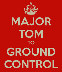 Image result for ground control to major tom