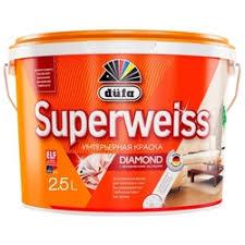 «<b>Dufa superweiss</b> водоэмульсионная <b>краска</b>, 5л ...