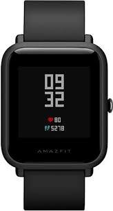 <b>Умные часы Xiaomi</b> Huami <b>Amazfit</b> Bip, черные купить в интернет ...