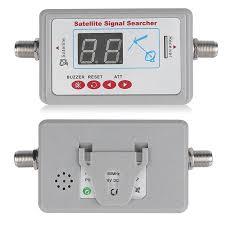 1 Pcs Digital Satellite Signal Finder For <b>TV</b> Meter LCD Display ...