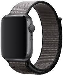 <b>Ремешок Apple</b> Sport <b>Nylon Band</b> для Watch 44 мм (тёмный графит)
